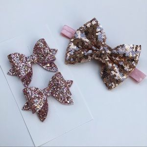 Other - Rose Gold Bows